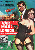 Vår man i London 1967 poster Paul Hubschmid