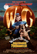 Varulvskaninens förbannelse 2005 poster Wallace and Gromit Nick Park