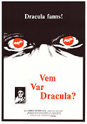 Vem var Dracula? 1975 poster Christopher Lee