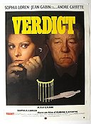 Verdict Poster 60x80cm France FN original