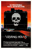 Visiting Hours 1982 poster Lee Grant Jean-Claude Lord