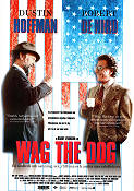 Wag the Dog 1999 poster Dustin Hoffman