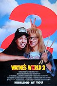 Wayne´s World 2 1994 poster Mike Myers