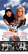 Wayne's World Poster 30x70cm NM original