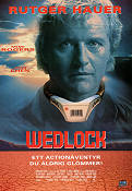 Wedlock 1991 poster Rutger Hauer Lewis Teague