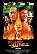 Welcome to the Jungle 2003 poster Dwayne Johnson Peter Berg