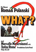 What 1973 poster Marcello Mastroianni Roman Polanski