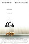 What Lies Beneath 2000 poster Harrison Ford Robert Zemeckis