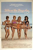 Where the Boys Are 84 Poster 68x102cm USA FN original