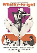 Whisky-kriget 1971 poster Richard Widmark Richard Quine
