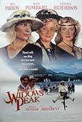 Widows Peak 1995 poster Mia Farrow
