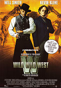 Wild Wild West 1999 poster Will Smith Barry Sonnenfeld