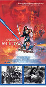 Willow 1988 poster Val Kilmer Ron Howard