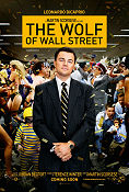 The Wolf of Wall Street 2013 poster Leonardo DiCaprio Martin Scorsese