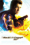 The World is Not Enough 1999 poster Pierce Brosnan Michael Apted