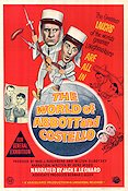 The World of Abbott and Costello Poster FN 66x100 (Australia) original