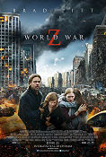 World War Z 2013 poster Brad Pitt Marc Forster