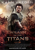 Wrath of the Titans 2012 poster Sam Worthington Jonathan Liebesman
