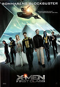 X-Men First Class 2011 poster James McAvoy Matthew Vaughn