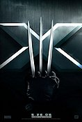 X-Men The Last Stand Poster 68x100cm USA advance RO liten reva original