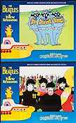 Yellow Submarine Lobbykort USA 11x14 NM original
