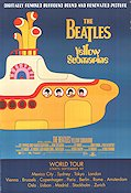 Yellow Submarine Poster 68x102cm USA RO original