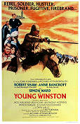 Young Winston 1972 poster Simon Ward Richard Attenborough