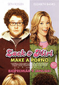 Zack and Miri Make a Porno 2009 poster Seth Rogen Kevin Smith